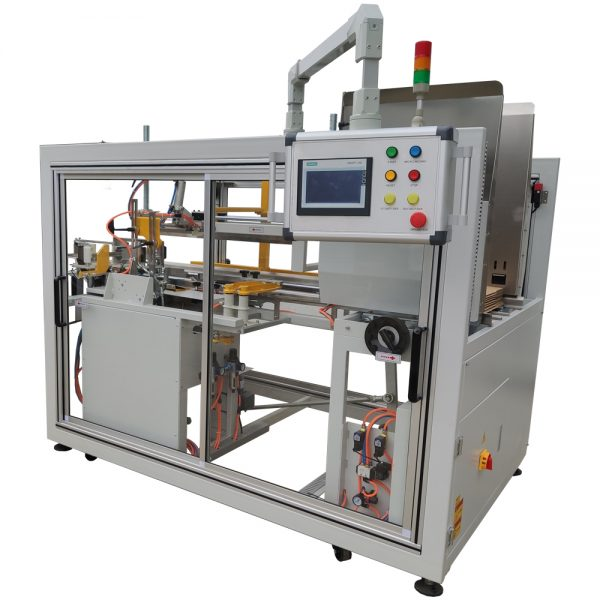 High-speed box erector machine