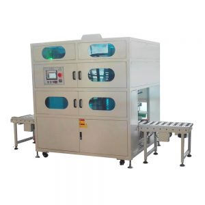 Bag inserting machine