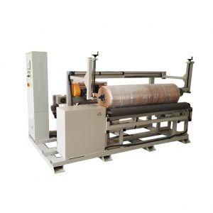 Radial cylinder winding machine