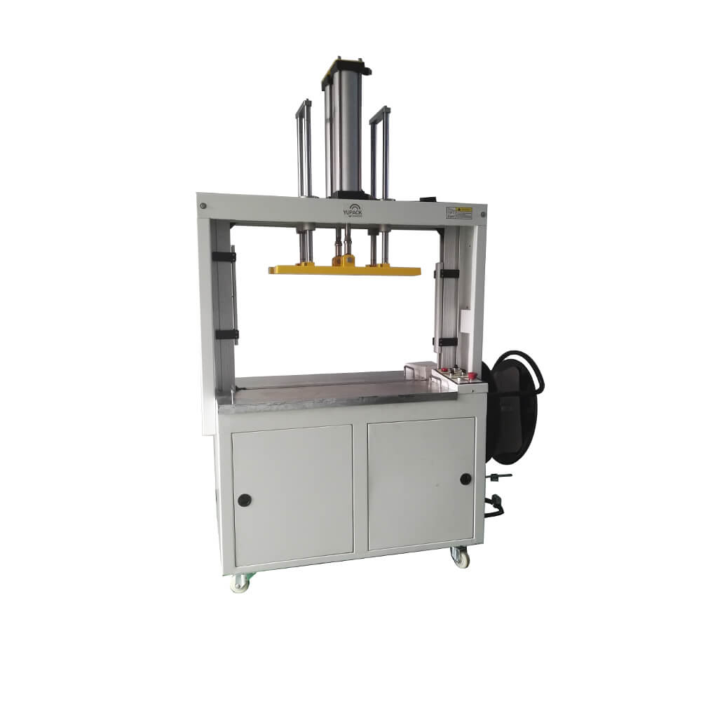 MH106B auto high table pressure strapping machine