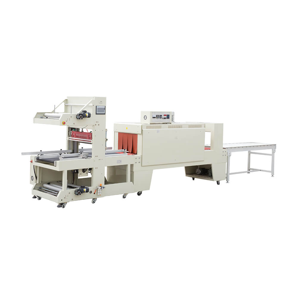 straight-through sleeve sealing shrink packing machine