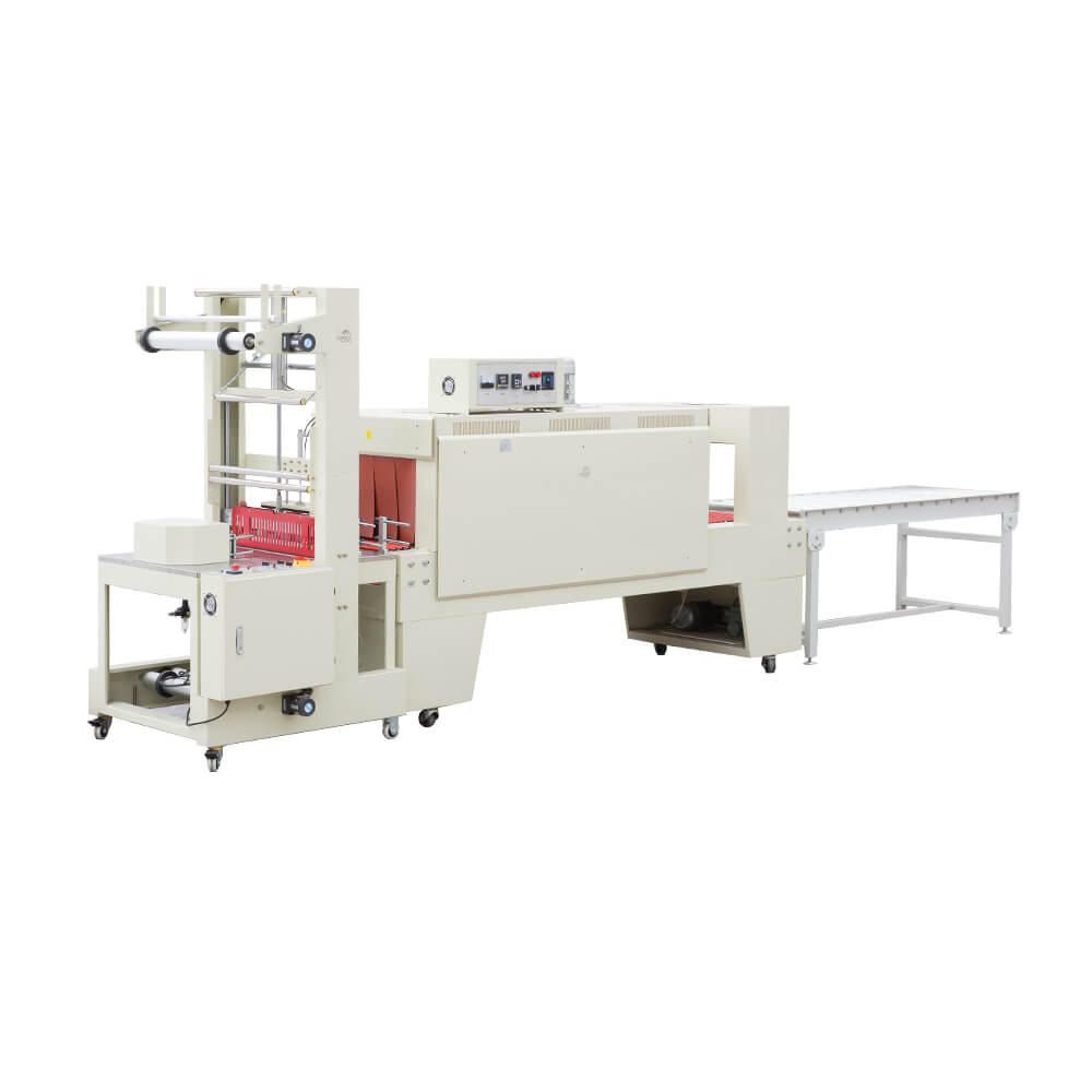 sleeve sealing shrink packing machine