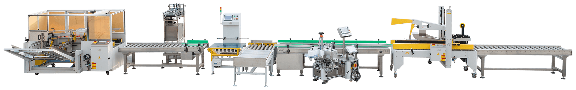 Automatic-case-packing-line