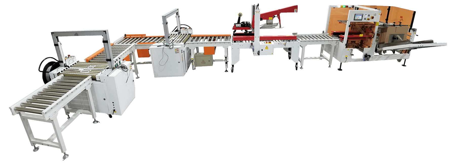 Automatic Case Packing Line