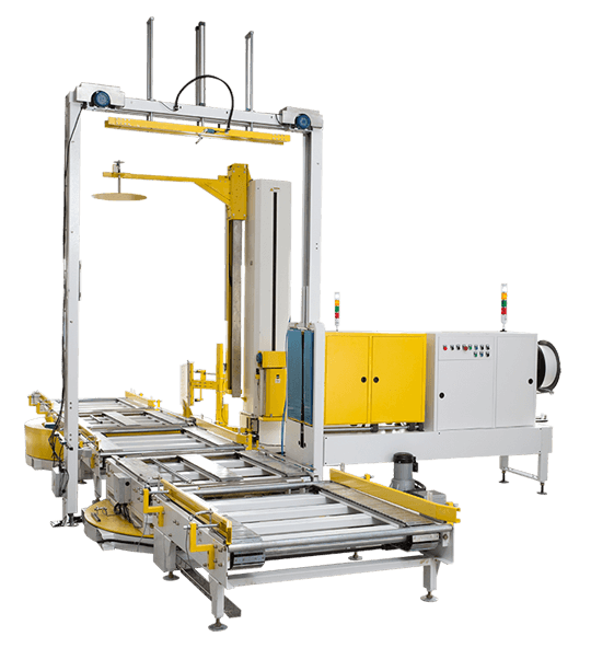 Fully Automatic Strapping Machine and Press-type Wrapping Machine Line